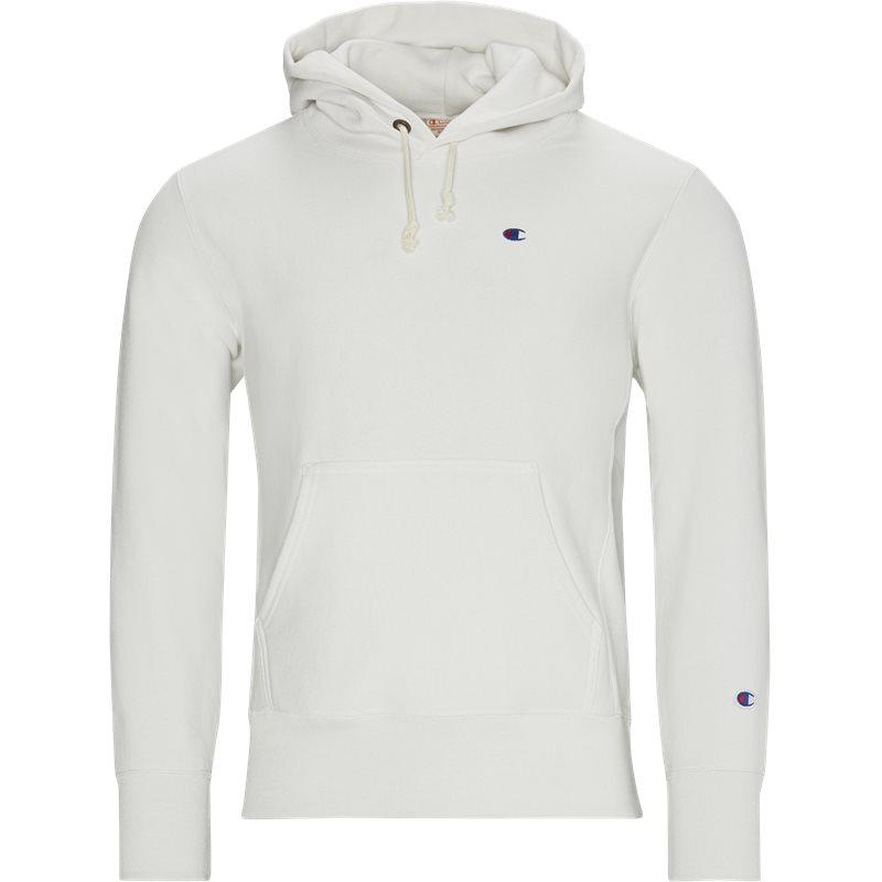 champion – Champion left chest hood off white på quint.dk